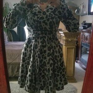 Xoxo wrap around dress